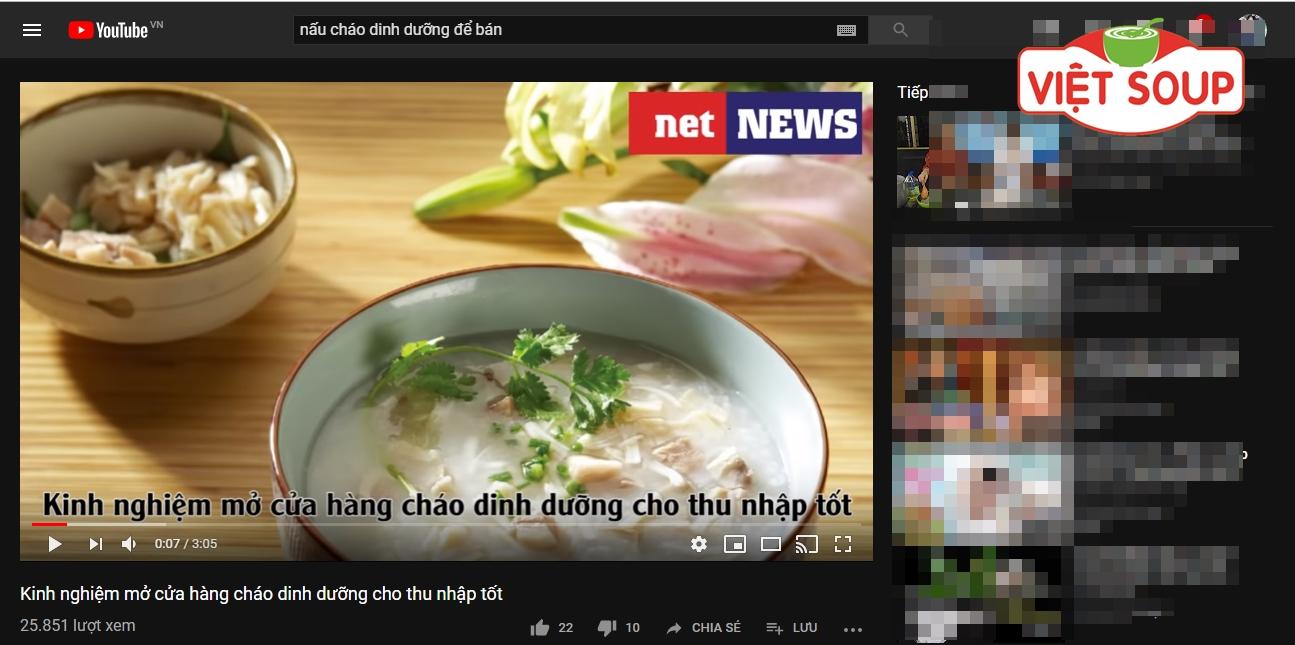 học nấu cháo dinh dưỡng youtube
