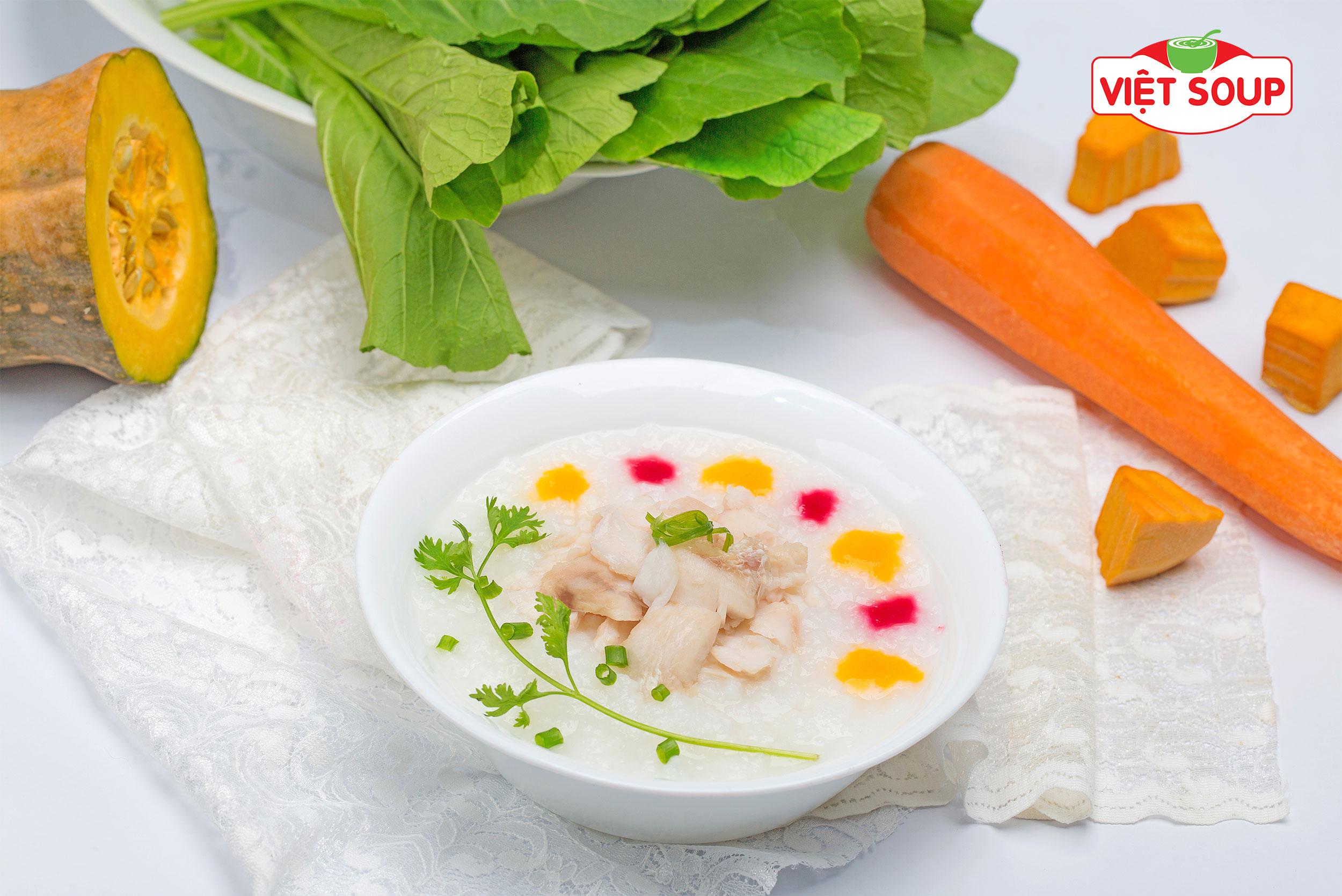 Cháo dinh dưỡng - Cháo cá lóc