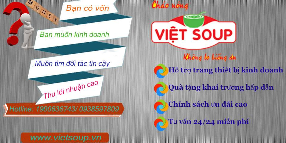 HIỂU ĐÚNG VỀ KINH DOANH CHÁO DINH DƯỠNG