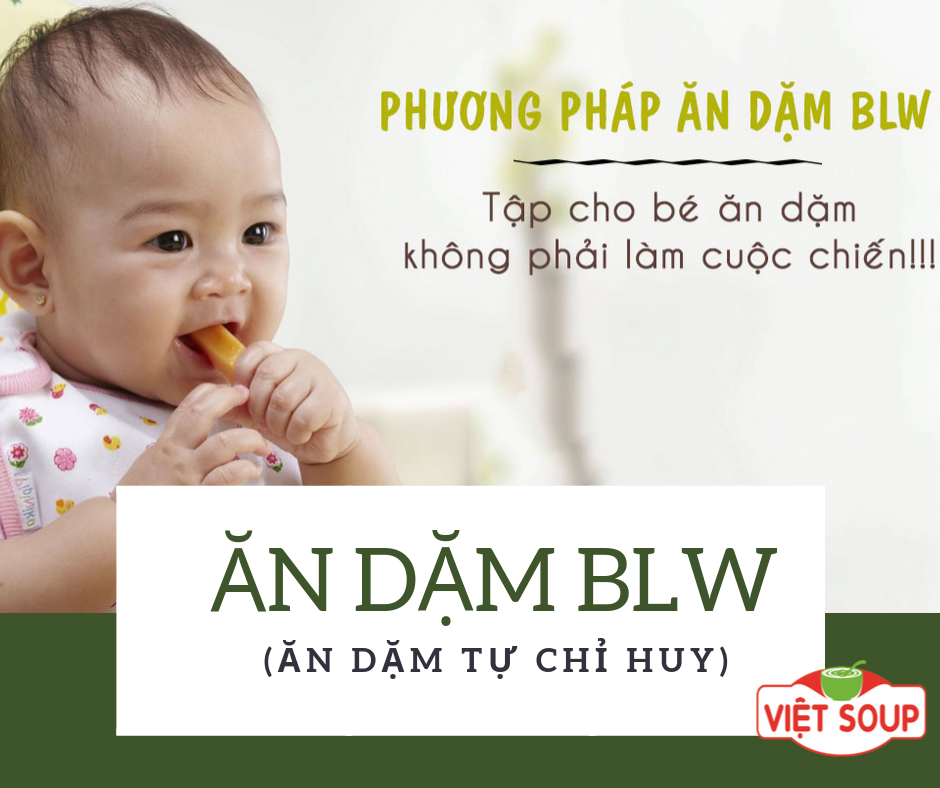Ăn dặm BLW và 10 thắc mắc phổ biến của mẹ